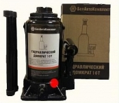 Домкрат гидравлический 16 тонн (210-405 мм 2 клапана) / БелАвтоКомплект / БAK.00035