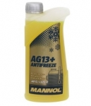 Антифриз MANNOL Advanced AG13+  / желтый / 1KG