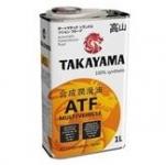 Масло TAKAYAMA ATF Multivehicle / 605048 1L