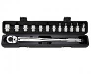 Набор головок с динамометрическим ключом ( 13 предметов) 16-27мм / BERGER / BG-13STW