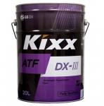 Масло Kixx ATF DX-III / 20L