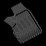 Коврики в салон резиновые LADA 4х4 2131 Urban 2016- / REZKON / 1039035300 (комплект 4шт)