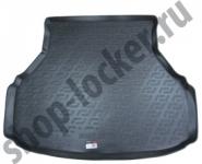 Коврик багажника полиуретан Datsun On-Do седан 2014- / L.Locker / 0143020101
