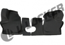 Коврики в салон полиуретан ГАЗель NEXT / передние / L.Locker / 0281020101