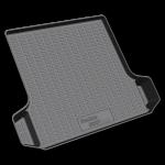 Коврик багажника пластик Renault Logan 2004- 3D / REZKON / 5029015140