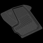Коврики в салон резиновые ГАЗель NEXT 2016- передний ряд / REZKON / 1040005800