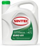 Антифриз SINTEC EURO G-11 / Зеленый / 800523 5KG