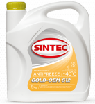 Антифриз SINTEC GOLD G-12 / Желтый / 800526 5KG