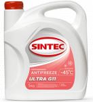 Антифриз SINTEC ULTRA G-11 / Красный / 800524 5KG