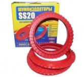 Шумоизоляторы пружин LADA 2110 Samara / SS-20 / передние SS64101 4шт